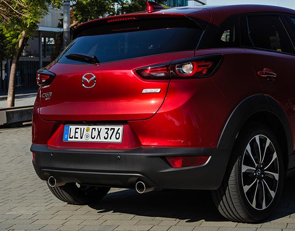 Mazda-CX-3-Exterieur-Heckansicht