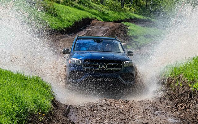 Mercedes-Benz GLS Exterieur