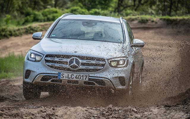 Mercedes-Benz GLC Exterieur