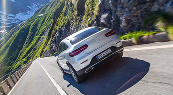 GLC-Coupe-Exterieur-Heck-Berge-dynamic-dynamisch
