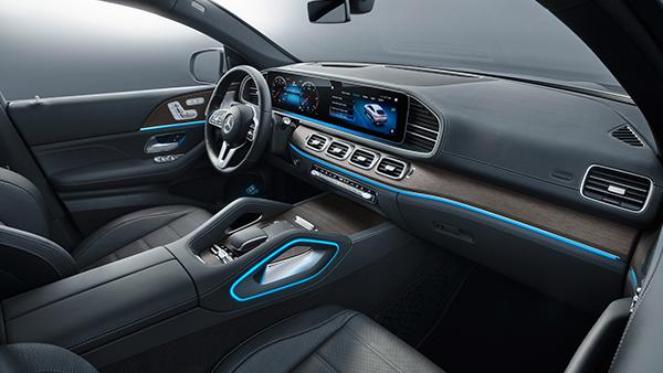 GLC-Coupé Interieur Fahrersitz