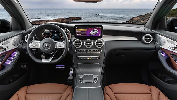 GLC SUV Interieur Cockpit
