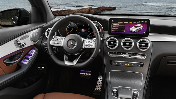 GLC SUV Interieur Multimedia
