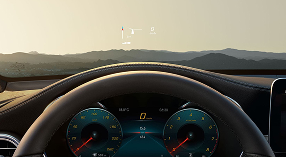 GLC-SUV-mbux3-Head-up-Display-Interieur