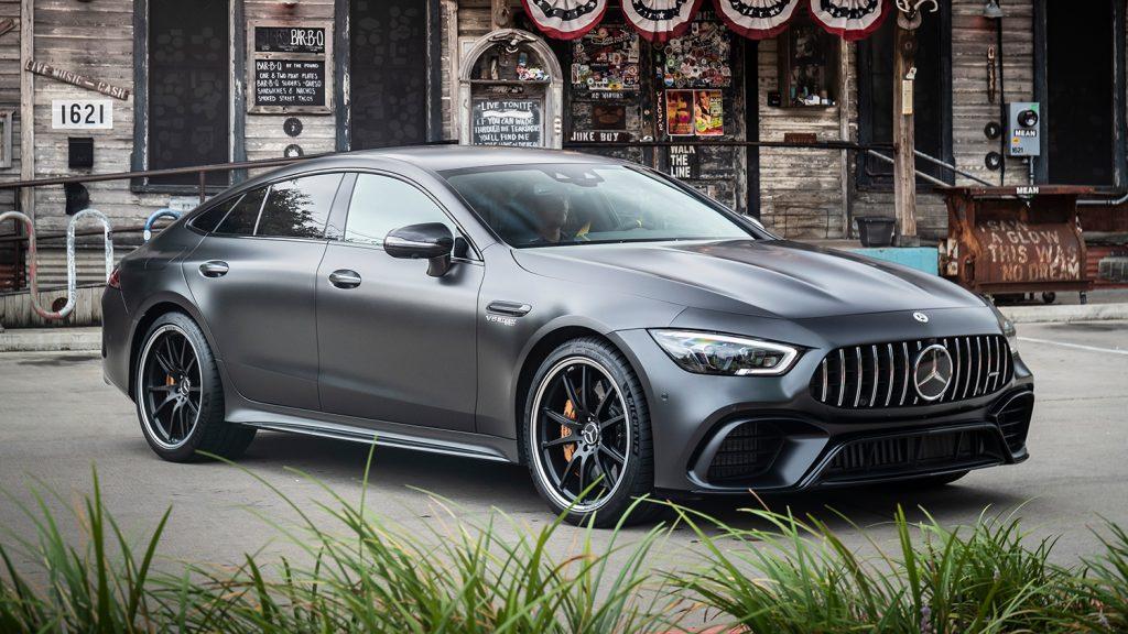 AMG-GT-Coupe-Exterieur-Frontansicht-Seitenansicht-Frontlights-Scheinwerfer