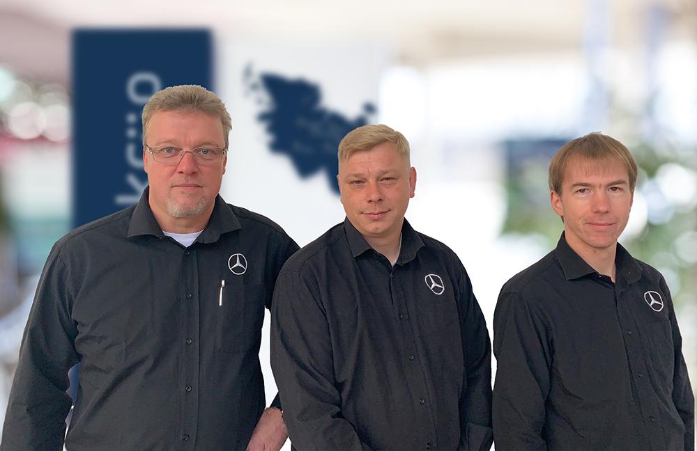 Mercedes-Benz Teile & Zubehör - Außendienst
