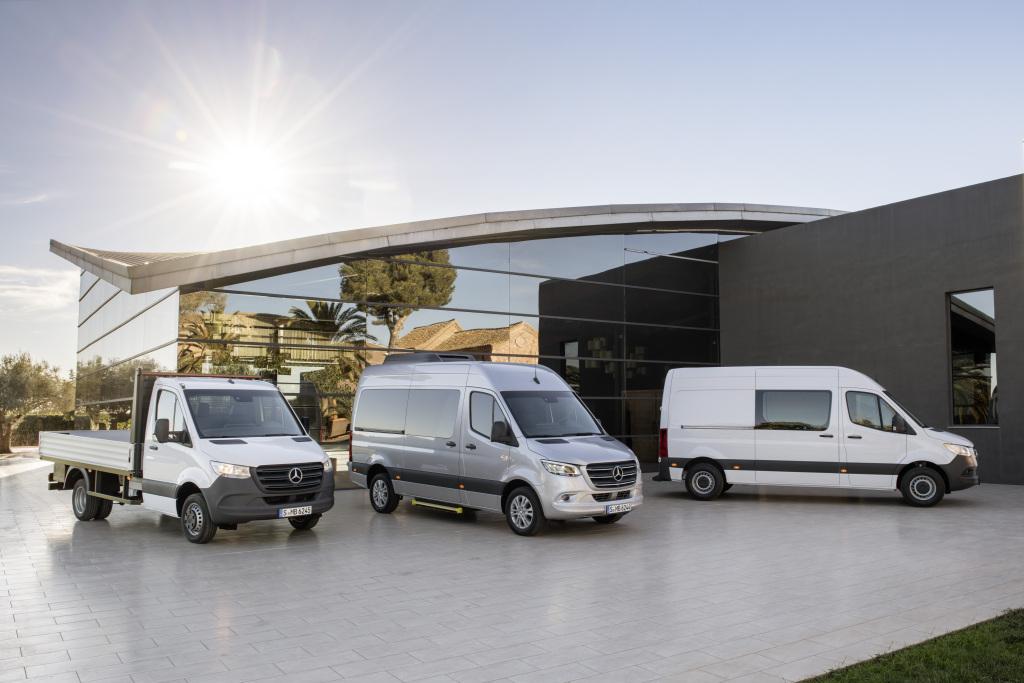 Mercedes-Benz Sprinter – Range
