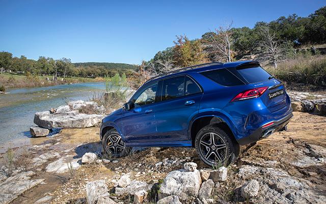 GLE SUV Hybrid Exterieur