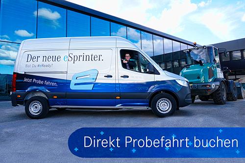 eSprinter Probefahrt