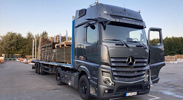 Süverkrüp Mercedes-Benz Actros EDITION 2