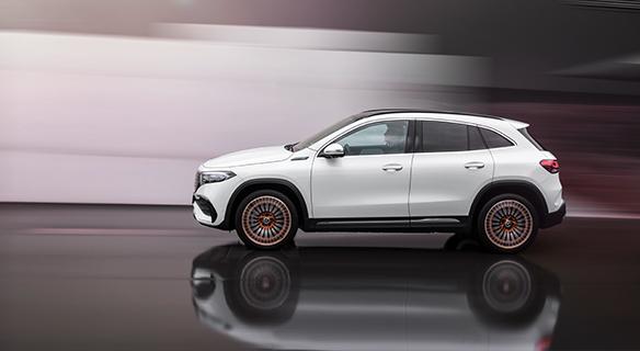 Mercedes EQA bei Süverkrüp
