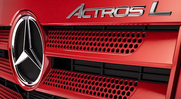 Mercedes-Benz Actros L - Süverkrüp