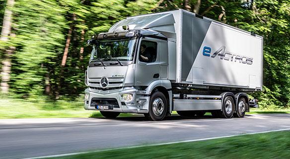 Mercedes-Benz eActros - Süverkrüp