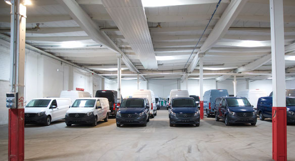 Süverkrüp Vermietung Stellplätze Neumünster Mercedes-Benz