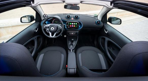 smart eq fortwo Detail Cockpit