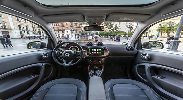 smart eq Detail Cockpit