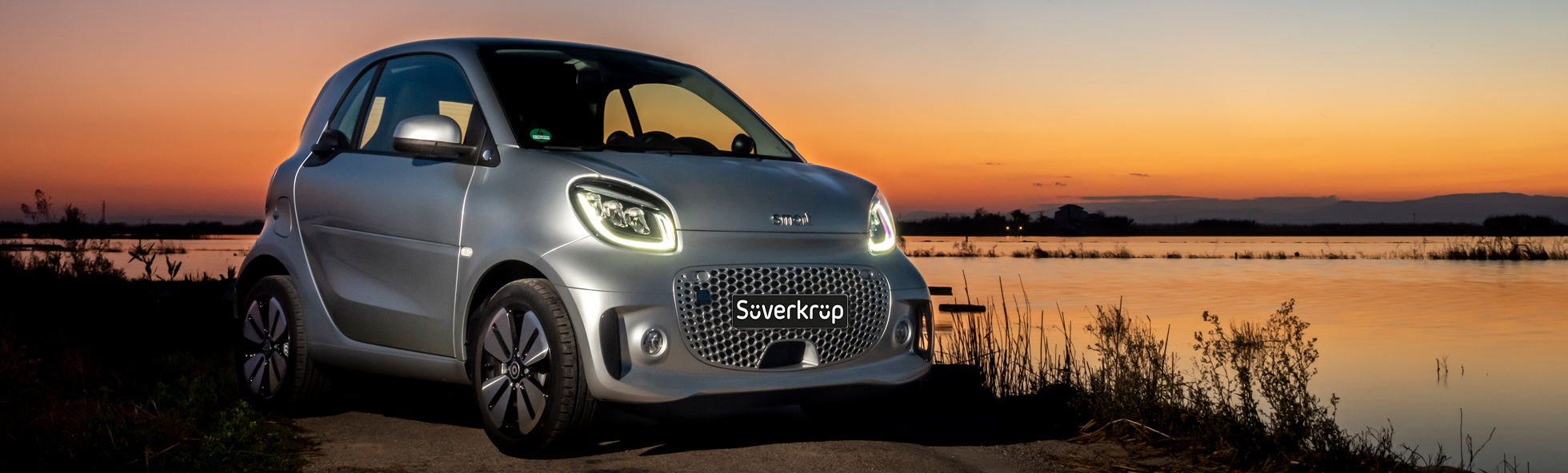 Slider smart eq fortwo coupé