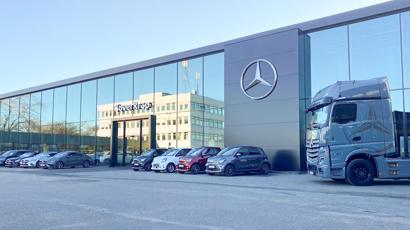 Süverkrüp Mercedes-Benz Daimlerstraße Kiel Standort