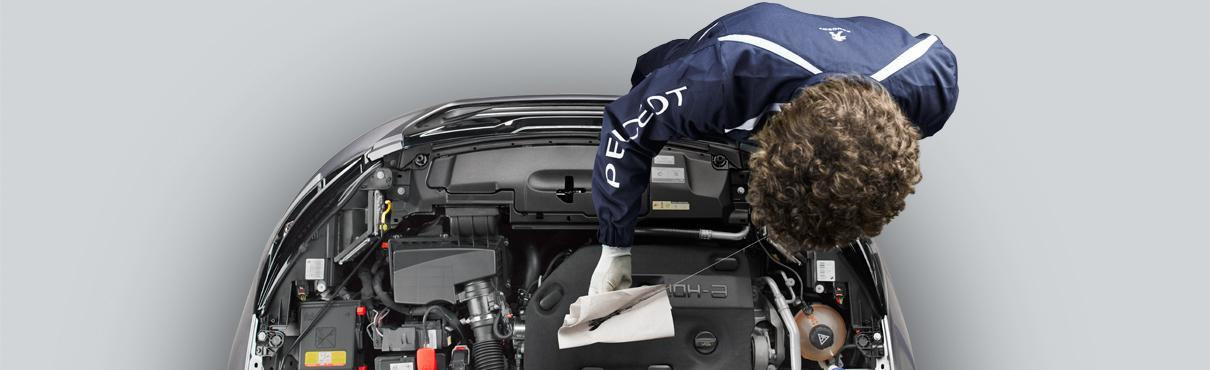 Peugeot Werkstatt Service Teile Zubehör Süverkrüp