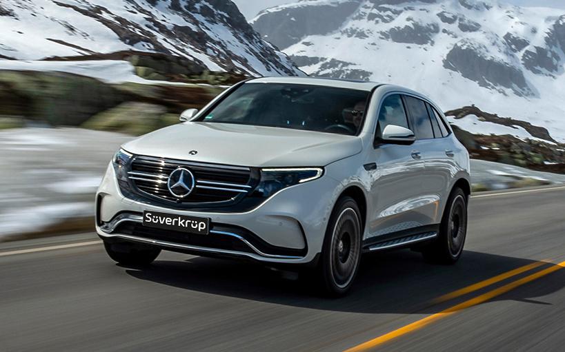 Mercedes-Benz EQC PKW Neuwagen Verkauf Süverkrüp Automobile