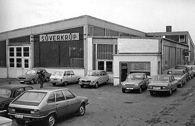 Historie Süverkrüp Automobile Klausdorfer Weg Kiel