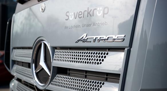 Transporter bei Süverkrüp Mercedes-Benz