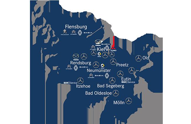 Süverkrüp Standorte Marken Schleswig-Holstein